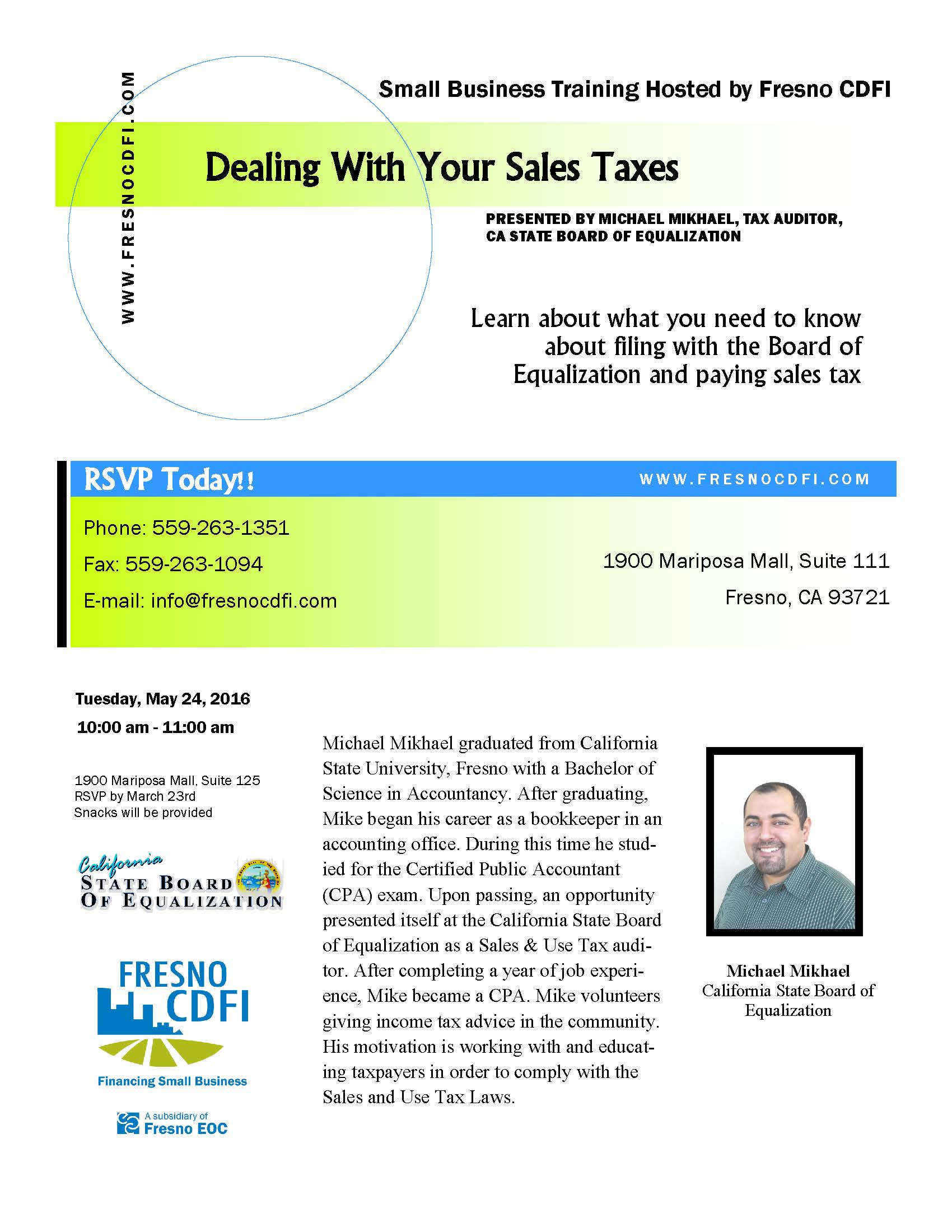 Dealing with Your Sales Taxes - Access Plus Capital