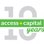 Access Plus 10 Anniversary Logo